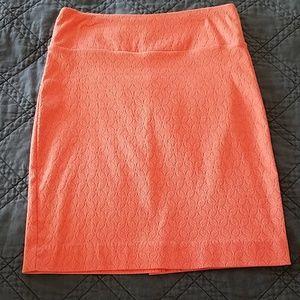 Coral Margaret M Pencil Skirt